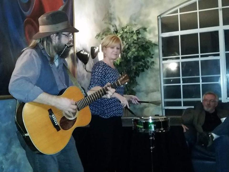 Roy Schneider & Kim Mayfield house concert