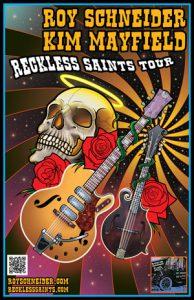 Reckless Saints Tour Poster